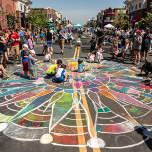 Chalkfest at Arbor Lakes