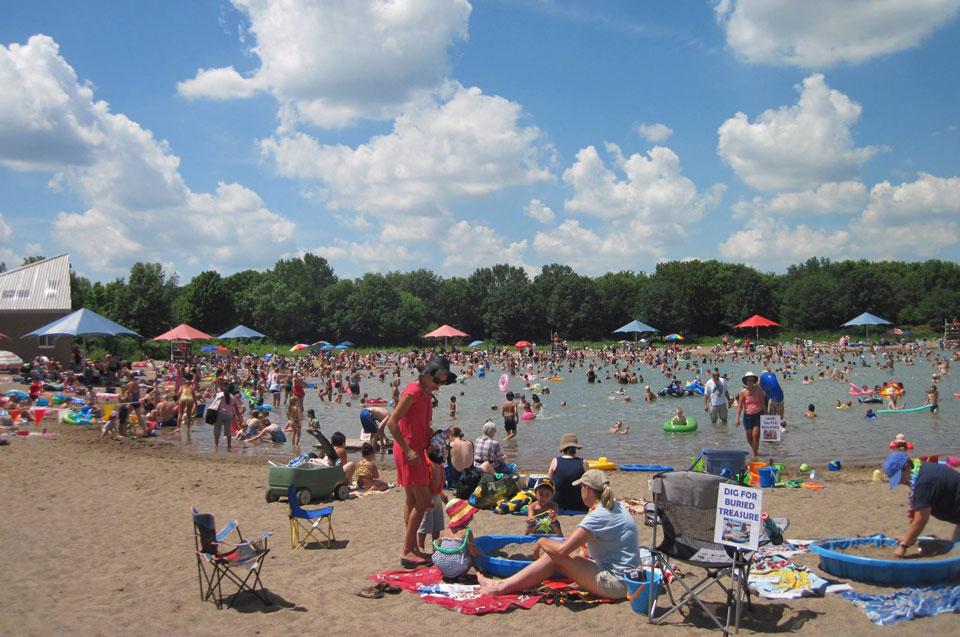 Beach in Minnesota