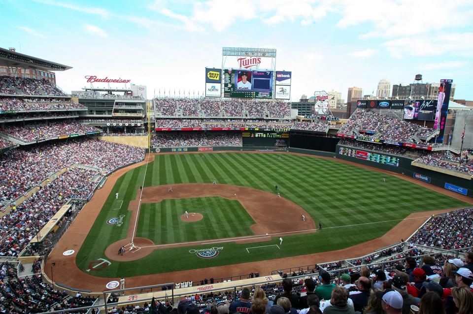 Minnesota Twins baseball game