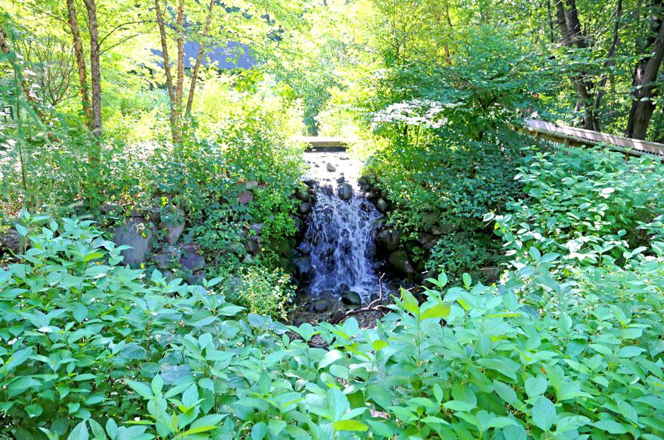 Waterfall in Westwood Hills