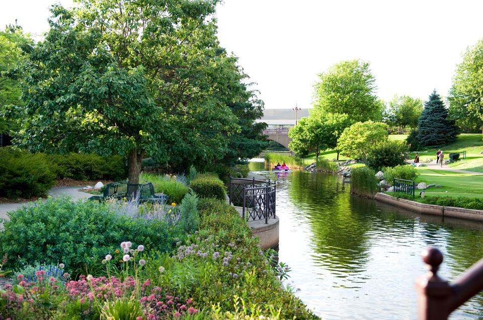 Centennial Lakes Park in Edina.