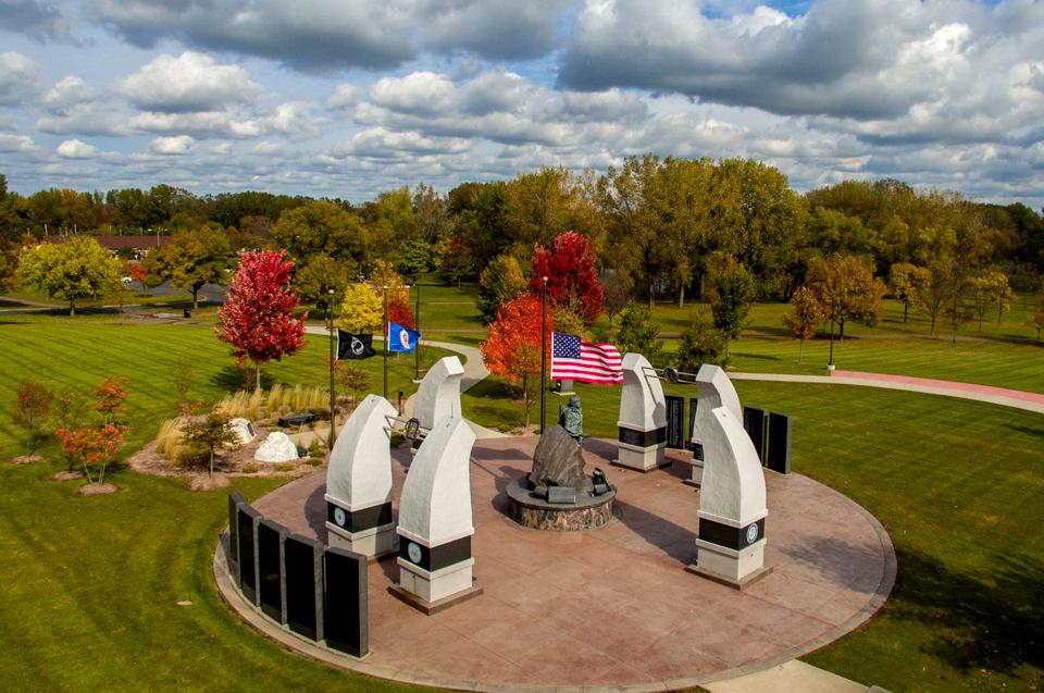 Veterans Park in Richfield.